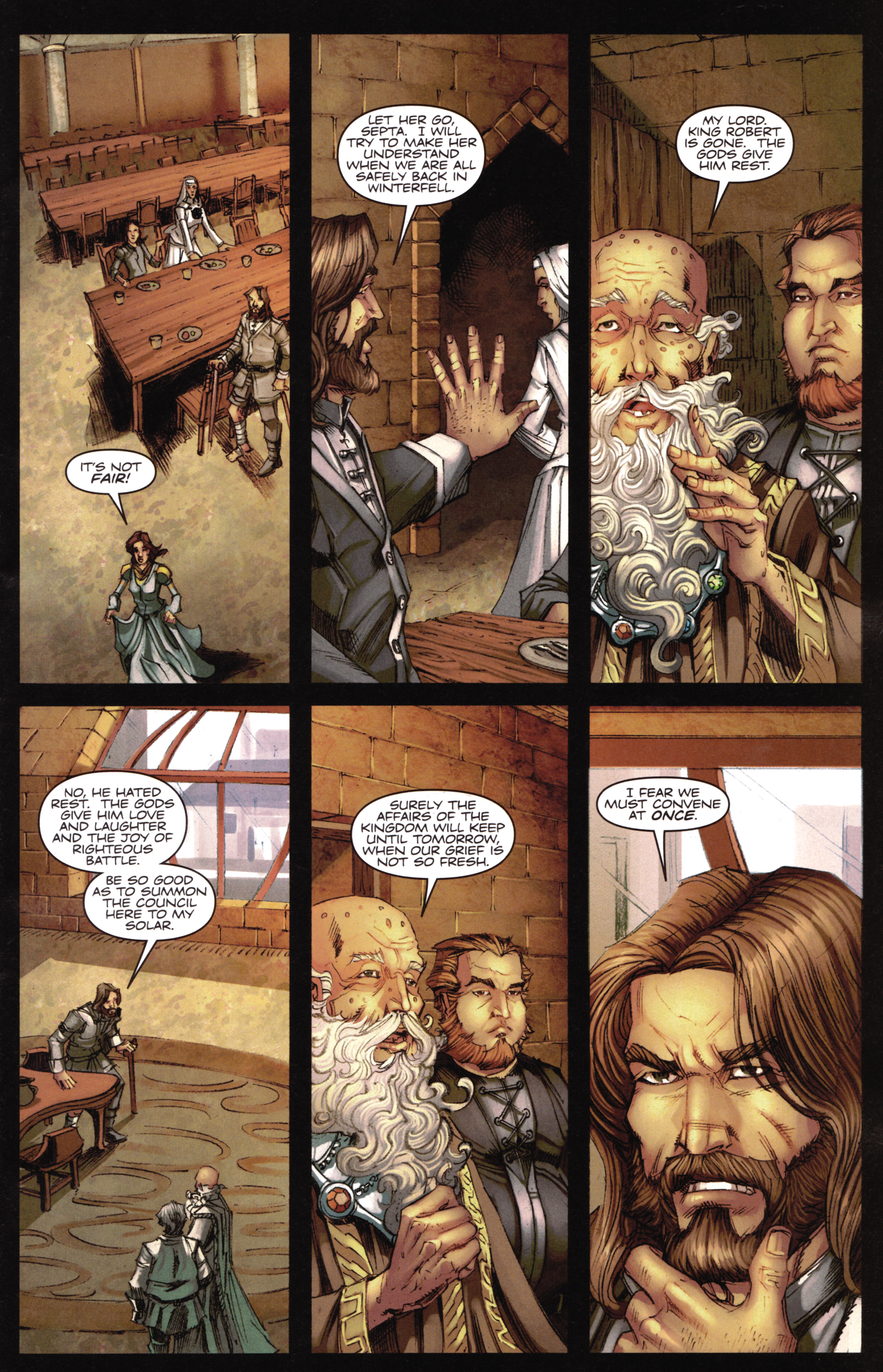 Read online A Game Of Thrones comic -  Issue #16 - 5
