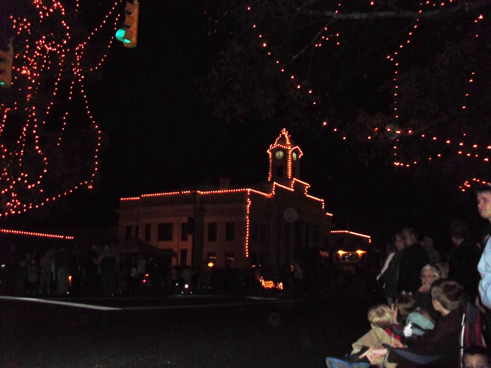 Mocksville Bed Race And Christmas