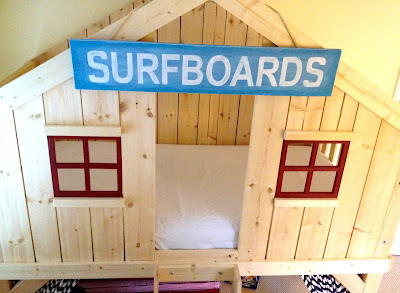 diy kids clubhouse fort bed