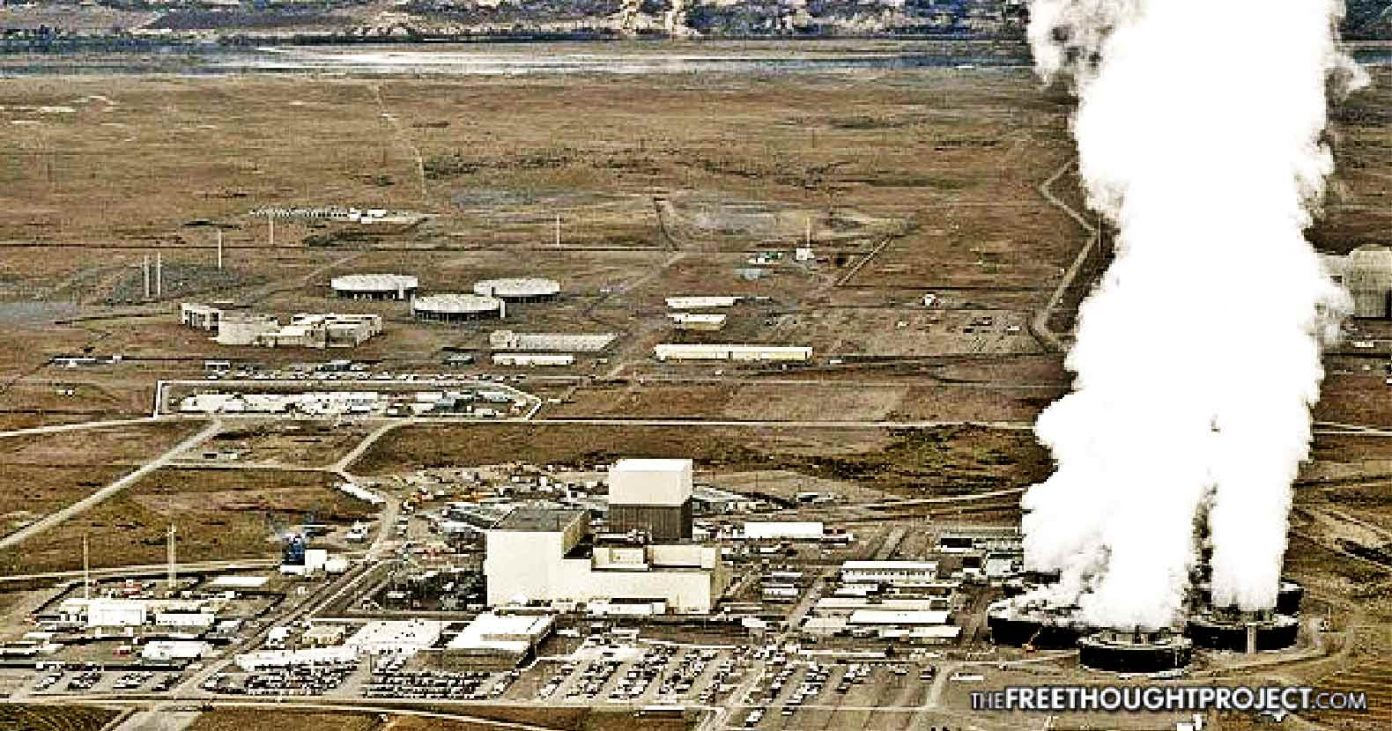 Hanford The Size Of Rhode Island