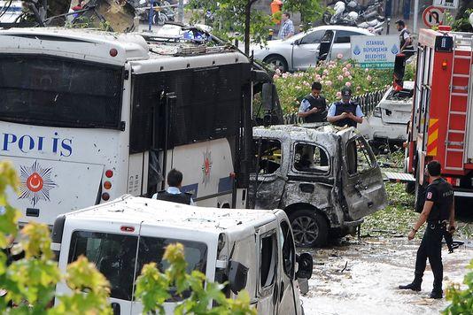 La Turquie frappé par un attentat en plein cœur d'Istanbul,