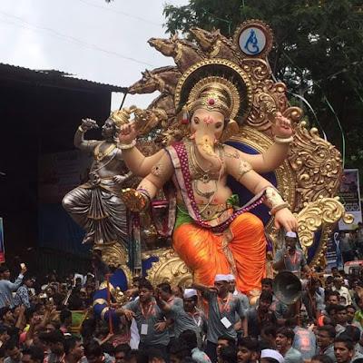 Chintamani cha raja - Mumbai ganpati images 2016 Mumbai Ganesh Chaturthi images 2016
