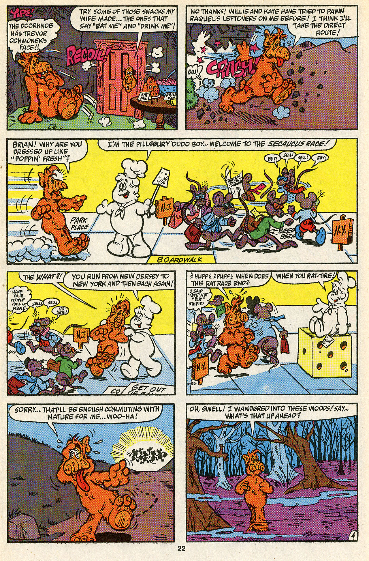 Read online ALF comic -  Issue #39 - 23