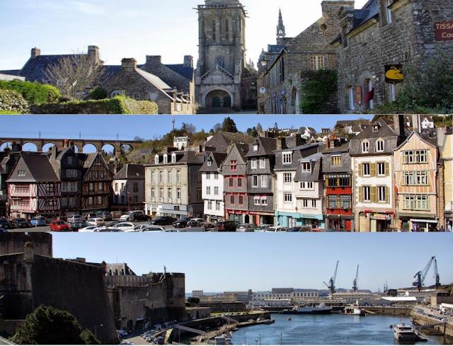 Recorriendo Bretaña: Locronan, Brest y Morlaix