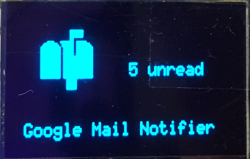 AReResearch - Andy Reischle: GMail notifier with ESP8266
