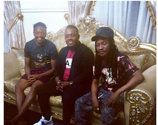 MI Abaga And Jesse Jagz Pay Condolence Visit To Ahmed Musa