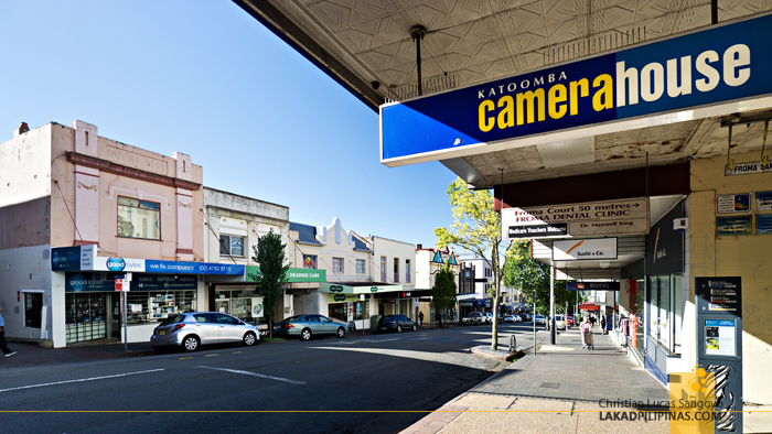 Katoomba Town Australia