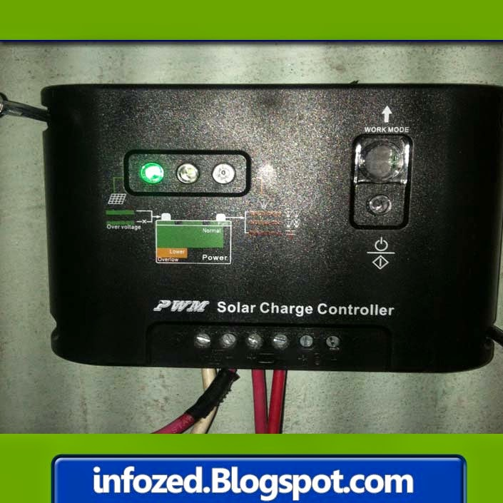 Solar Charge Controller for Solar Panel for Regulating the DC Volts