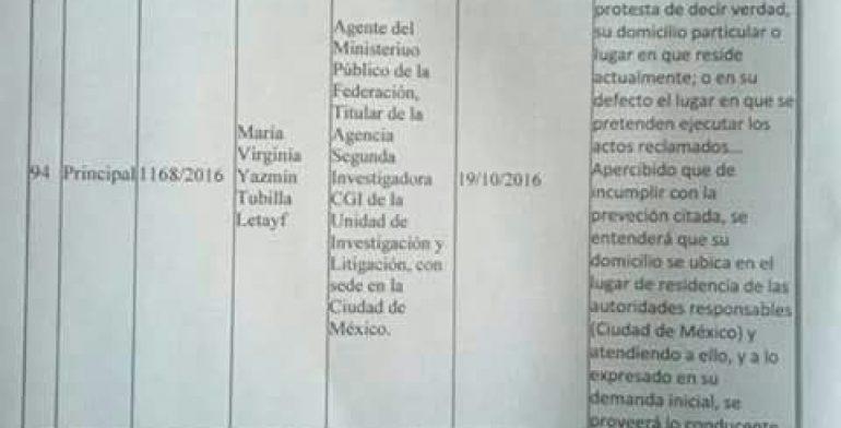 PGR, SEIDF y AIC catean inmuebles relacionados con Duarte