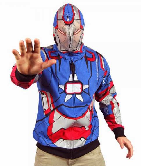 Costume hoodie le felpe che ti trasformano in super eroe