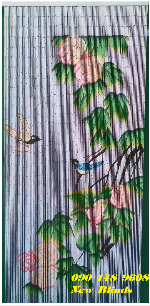 rèm trúc treo trang trí ở nội thất