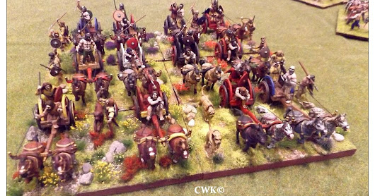 Irish chariots 28mm