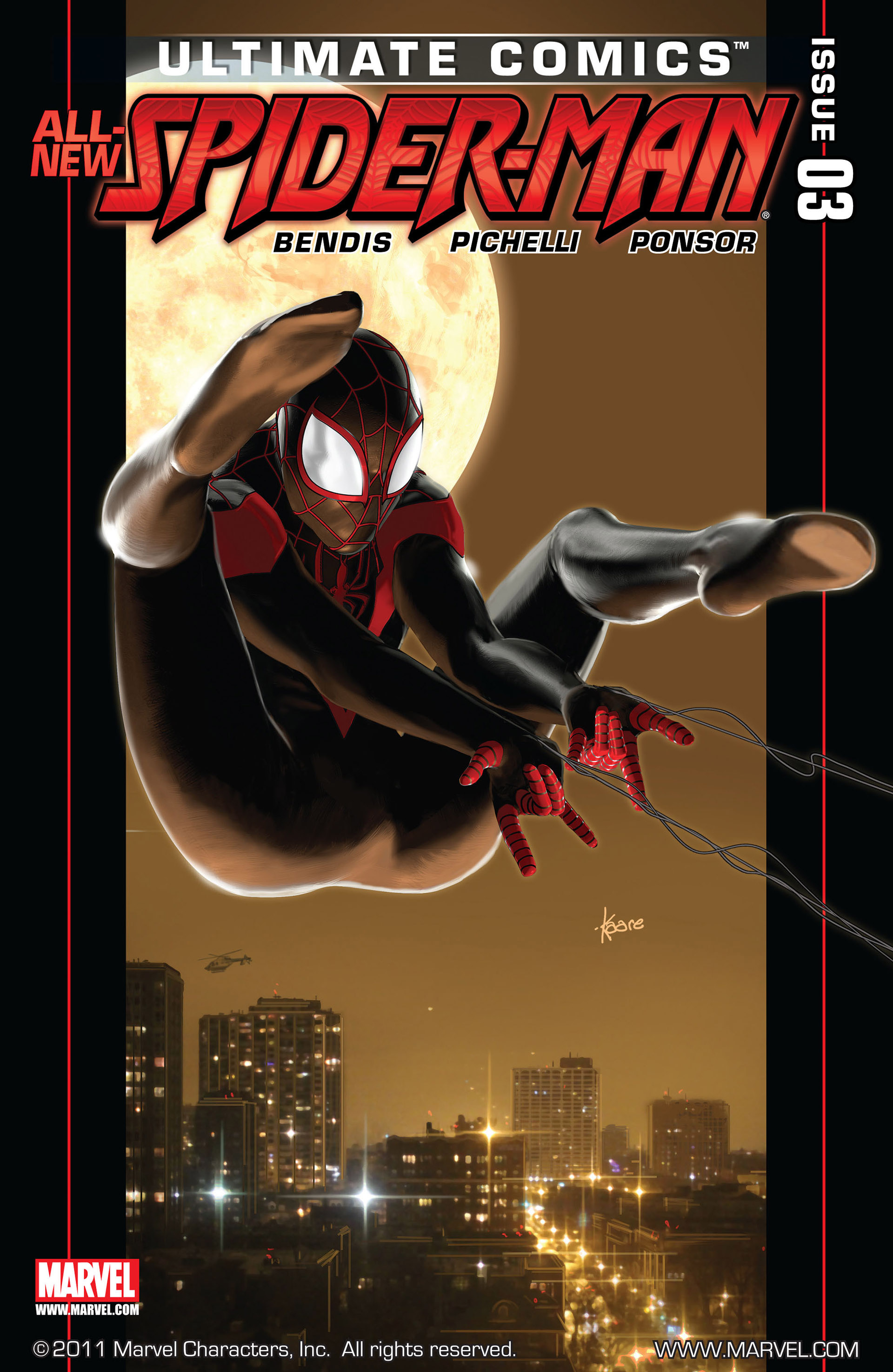 Read online Ultimate Comics Spider-Man (2011) comic -  Issue #3 - 1