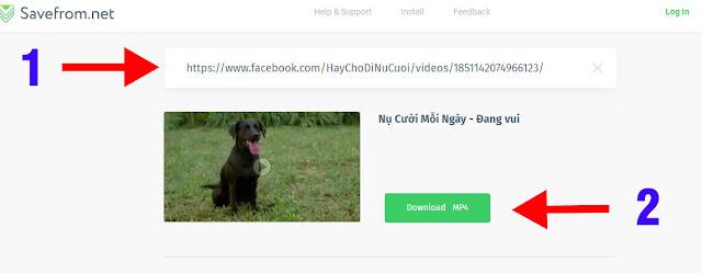 mẹo tải video trên facebook dễ làm