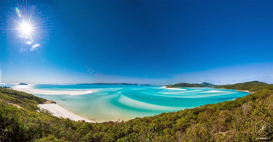 Whithaven Beach, QLD - Man Travels 40,000km Around Australia and Brings Back These Stunning Photos