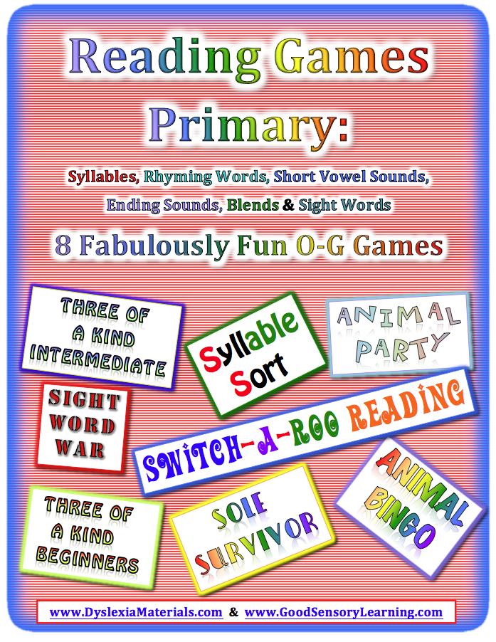 Eight, Dyslexia Games Make All Reading Programs Fun and ...