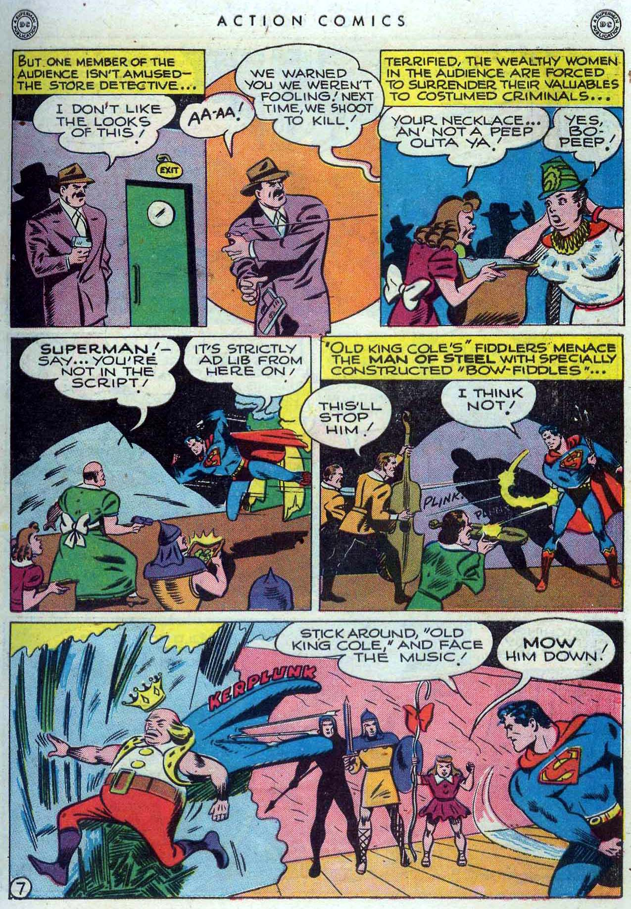 Read online Action Comics (1938) comic -  Issue #110 - 8