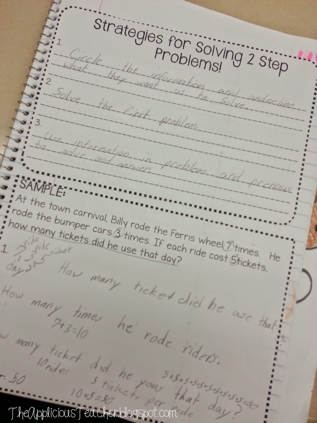 Multi Step Word Problems Decoded
