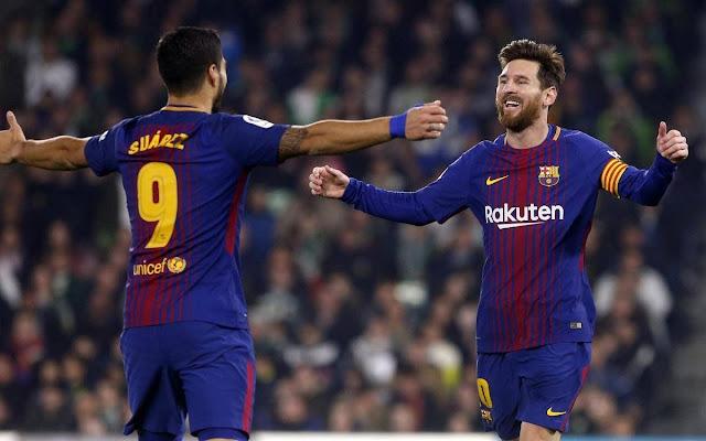 برشلونة يصدم ميسي وسواريز