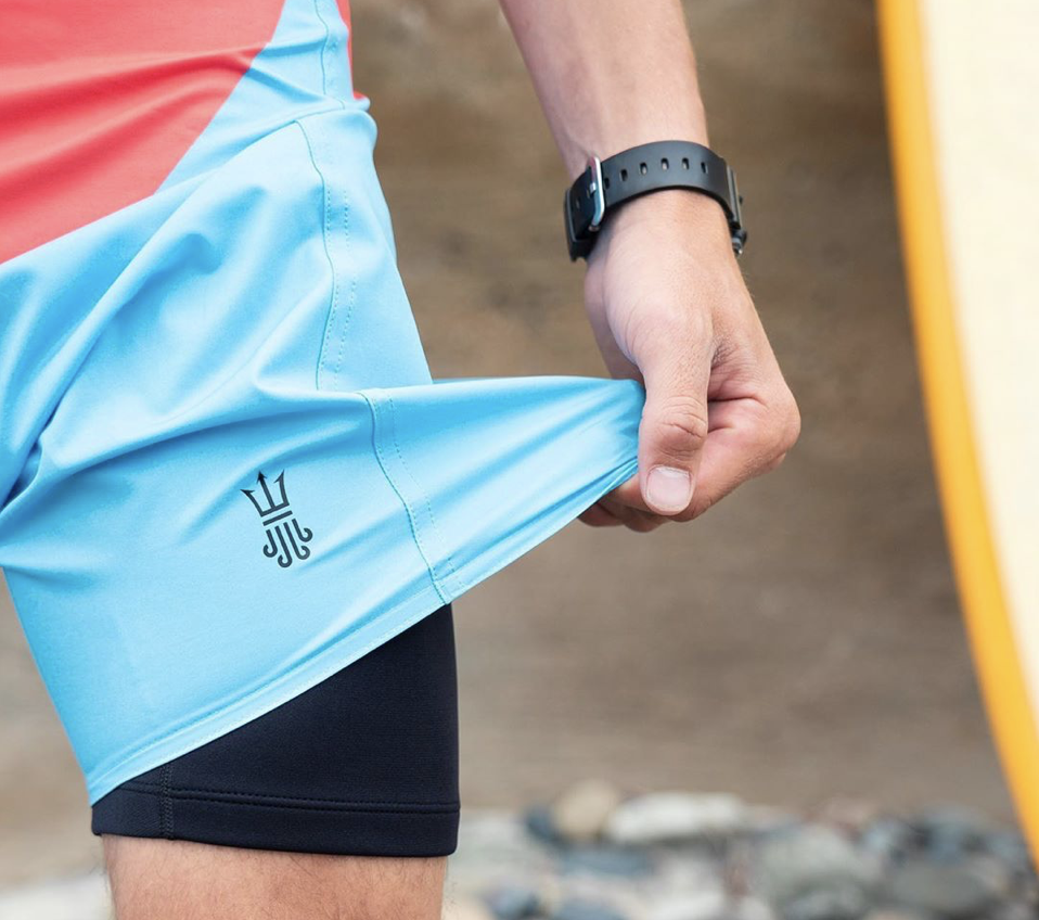 Say Warm With San Diego-Made Wetsuit Lined Board Shorts!