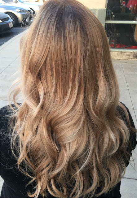 color-melted blonde