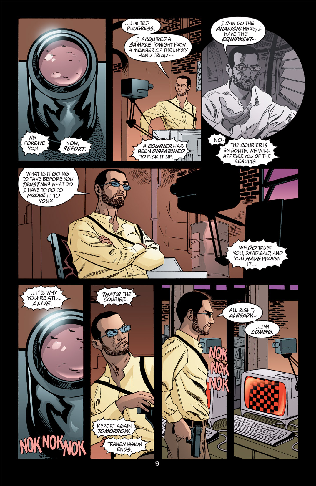 Detective Comics (1937) 768 Page 9