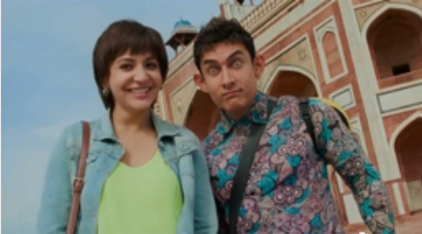 Aamir Khan PK Box Office Collection is about 100 crore Indian Rupee within Four Days