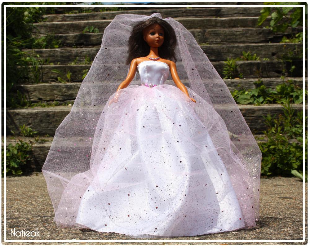 Tutoriel la robe de mari e barbie facile coudre - Barbie mariee ...