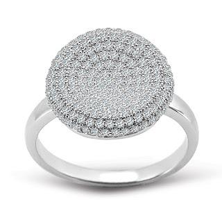 YES Scarlett pierścionek z cyrkoniami trendy 2016 wyprzedaż biżuterii
