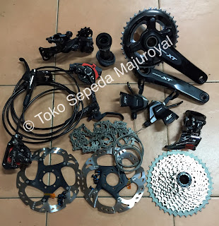 Groupset Shimano XT 11 Speed Terbaru