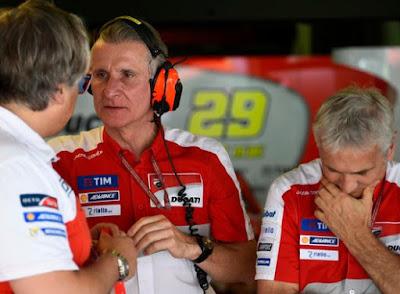 Petinggi Ducati Mulai Stress Pembalapnya Tak Kunjung Menang