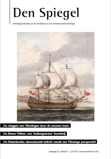 Vrienden van het muzeeum en het gemeentearchief vlissingen for Spiegel cover juni 2018