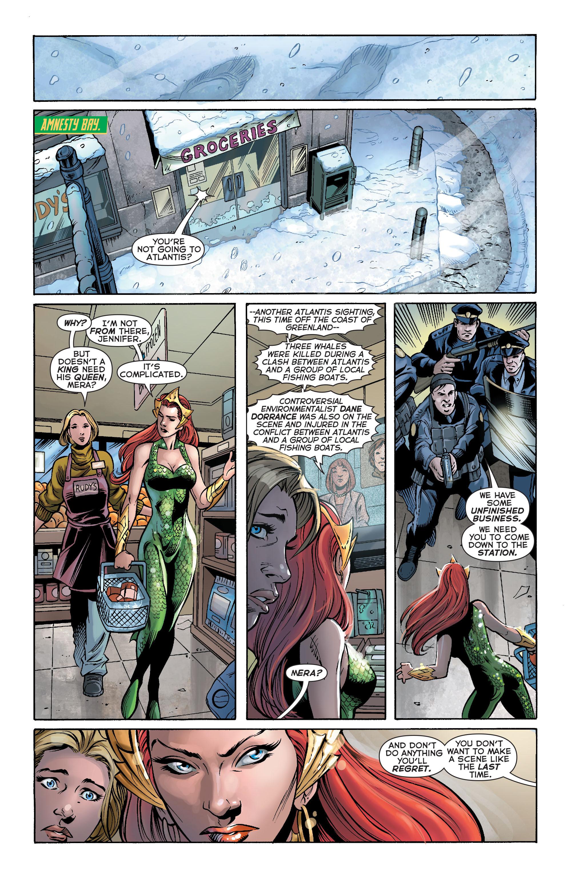 Read online Aquaman (2011) comic -  Issue #17 - 16