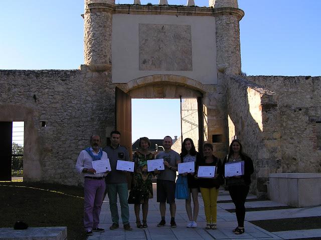 Gabriel González, Javi González, Salomé Pérez, Carlos del Río, Claudia Fernández, Marta González y Estrella Jiménez