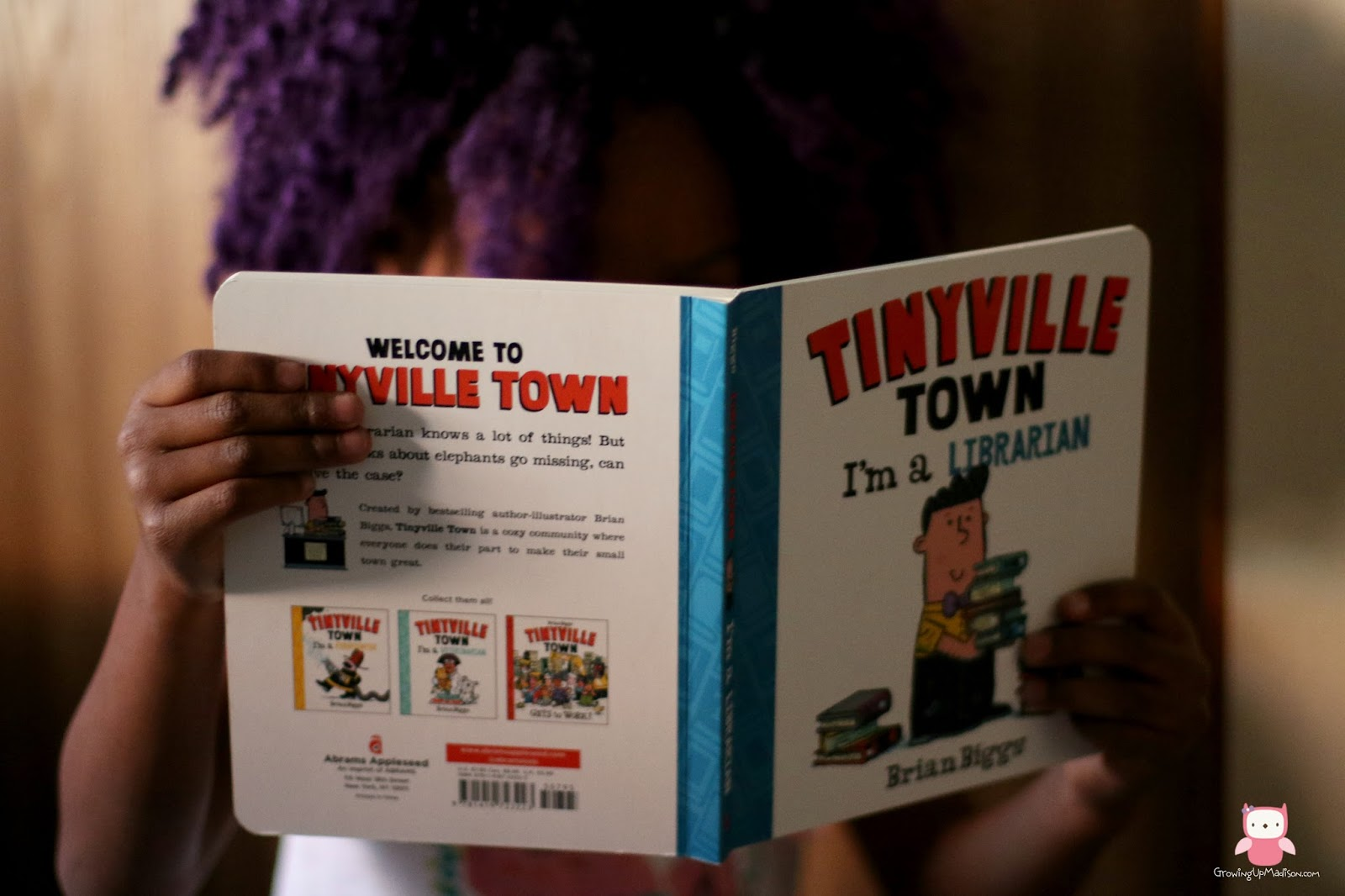 tinyville town i u0027m a librarian by brian biggs madison fuller