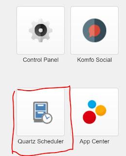 Sitecore QuartzScheduler - Sitecore Launchpad button