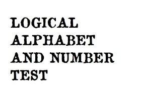 Alphabet and Number Sequence Test - Logical Reasoning Question and
