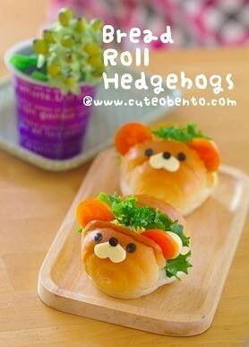 Bread Roll Hedgehogs