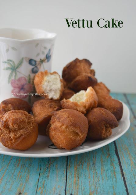 ettu Cake / Vetti Cake / Tea stall Fried Cake /  Chai Kada Cake / Eggless Vetti cake