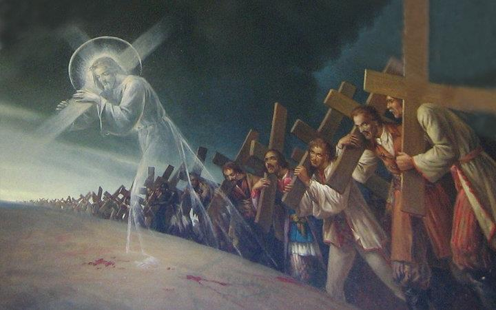 https://2.bp.blogspot.com/-RH3PmgsSfYI/TvXYM_NKE2I/AAAAAAAAFD0/44nQwE5Ks4M/s1600/Jesus+and+world+people+carrying+their+crosses.jpg