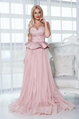 vestidos largos que disimulan las caderas