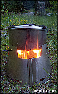 Trail Designs Wood stove