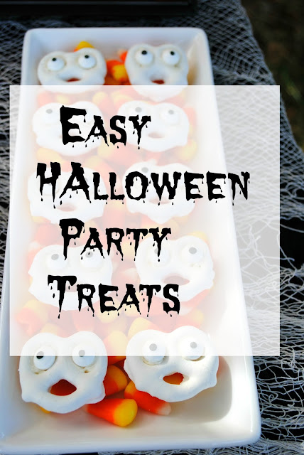 Easy Halloween Party Treats for your last minute party