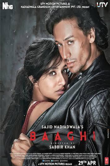 Baaghi (2016) 720p DVDscr