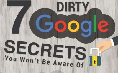 7 Dirty Secret Of Google That You Should Know [Infographic]