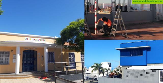 Los Llanos de Aridane invierte 85.000 euros en obras de mejoras para los centros escolares del municipio