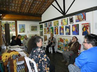 """""""Aprenda com Arte, o artista e sua obra"""" foi o primeiro debate do Atelier Telas da Serra"""