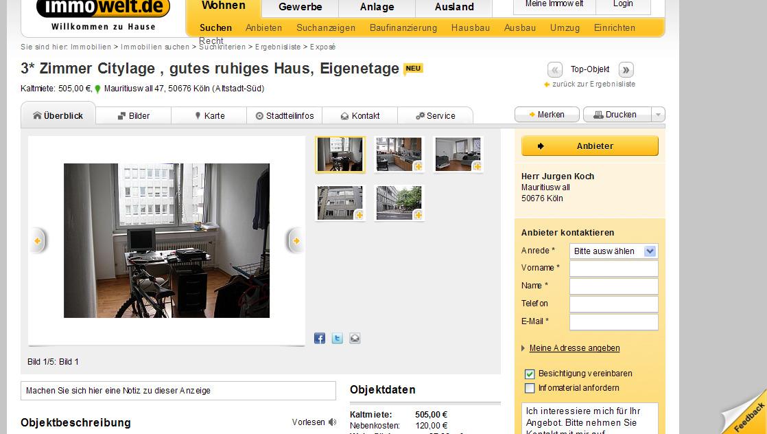 wohnungsbetrug.blogspot.com: 3* Zimmer Citylage , gutes ruhiges Haus ...