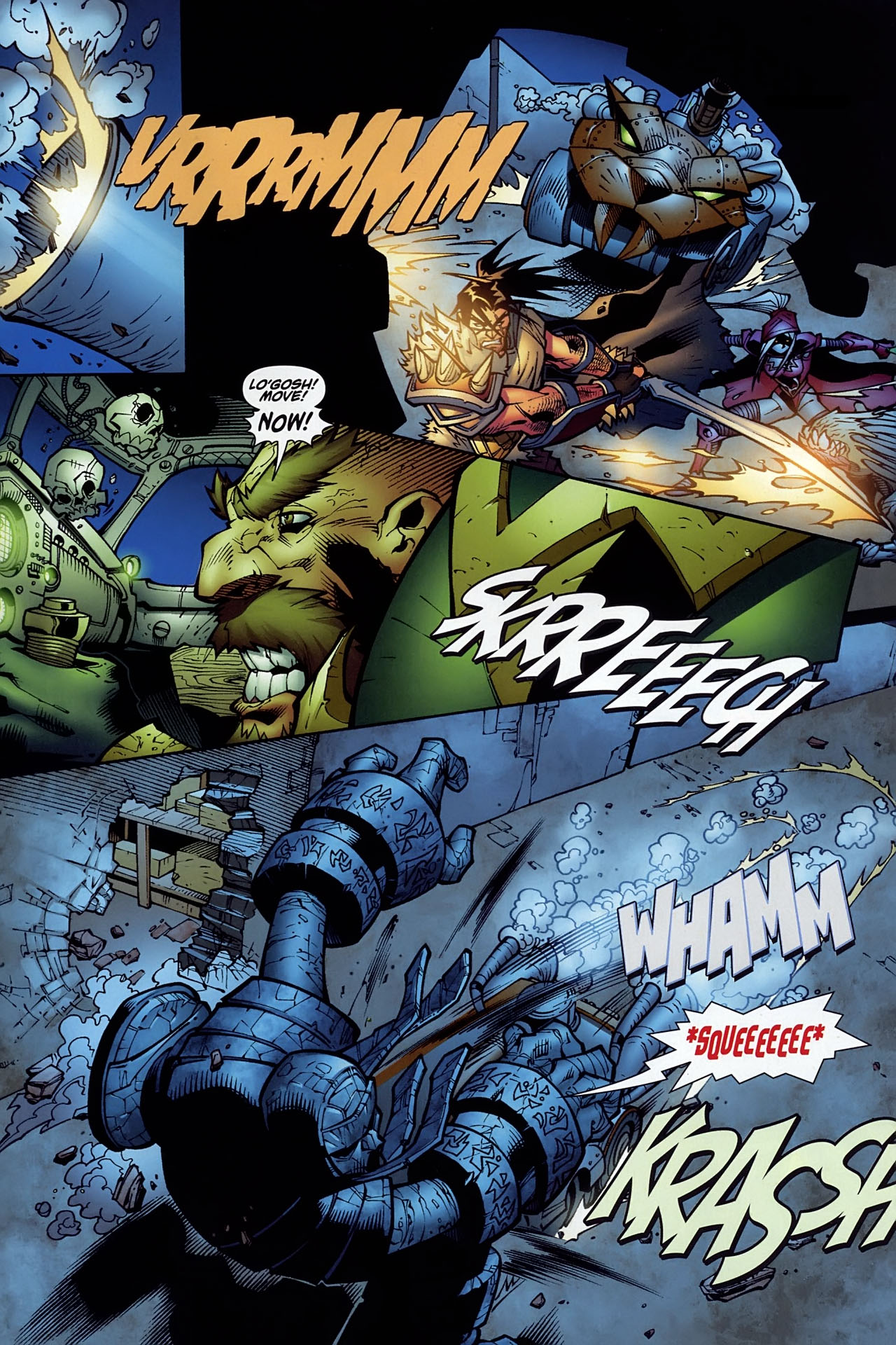 Read online World of Warcraft comic -  Issue #10 - 16