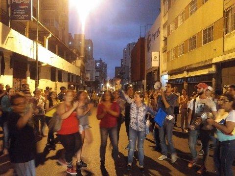 Apertura venezuela protestas en candelaria llegaron a las for Pagina del ministerio de interior y justicia